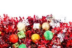 Concept de Noël, fond abstrait pendant la bonne année 2016 Images stock