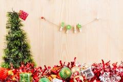 Concept de Noël, fond abstrait pendant la bonne année 2016 Photos libres de droits
