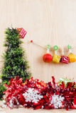 Concept de Noël, fond abstrait pendant la bonne année 2016 Images libres de droits