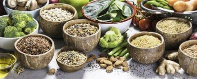 Concept de nourriture biologique image stock