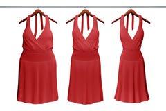 Concept de nourriture de régime avec la robe de femme Photographie stock libre de droits