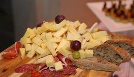 Concept de nourriture de restauration de restaurant de l'Italie de dîner de buffet Image libre de droits