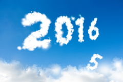 Concept 2016 de nouvelle année Images stock