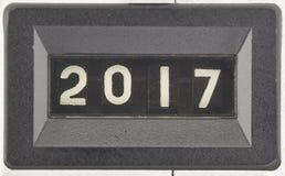 Concept de 2017, nouvelle année Photographie stock libre de droits