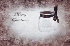 Concept de nouvelle année avec la bougie, image artistique Image libre de droits