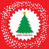 Concept de nouvelle année de Joyeux Noël Images libres de droits