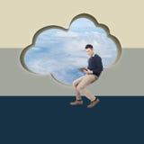 Concept de nuage images libres de droits