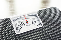 Concept de nutrition de régime d'échelle de poids Photos libres de droits