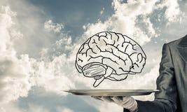 Concept de ontwikkeling van meningscapaciteiten Stock Afbeeldingen