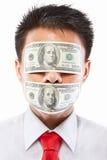 Concept de paiement illicite Photos libres de droits