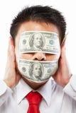 Concept de paiement illicite Photos stock