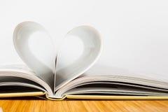 Concept de papier d'amour Photo stock