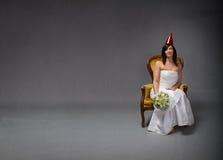 Concept de partie de jeune mariée image libre de droits