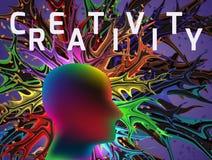 Concept de pensée créative Image stock