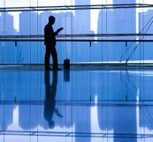Concept de pensée de Reading Alone Planning d'homme d'affaires photo libre de droits