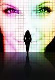 Concept de perception de beauté Image libre de droits
