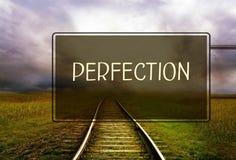 Concept de perfection photos libres de droits
