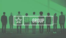 Concept de personnes de la Communauté de Group Crowd Company Image stock