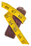 Concept de perte de poids de diabète Photo stock