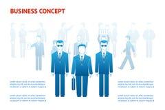 Concept de peuples d'affaires Image stock