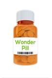 Concept de pilule de merveille Photographie stock libre de droits