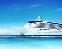 Concept de plage de voyage de Holiday Working Business d'homme d'affaires Images libres de droits