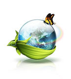 Concept de planète d'environnement Image libre de droits