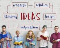 Concept de plan d'idées de jeune entreprise Images stock