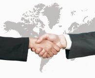Poignée de main du monde d'affaires Photos libres de droits