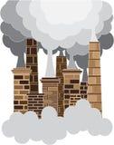Concept de pollution Image libre de droits
