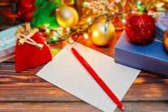 Concept de préparations de Noël et de nouvelle année Photo stock