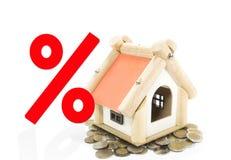 Concept de prêt immobilier Images libres de droits
