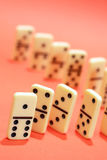 Concept de principe de domino Image stock