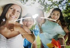 Concept de produit de haute qualité de marque déposée de valeur de marque Photographie stock libre de droits