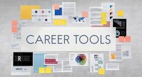 Concept de profession de ressources humaines d'emploi de travail d'outils de carrière illustration libre de droits
