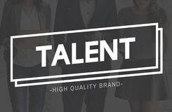 Concept de professionnel de représentation d'expertise de capacité de qualifications de talent photos libres de droits