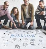 Concept de progrès de Marketing Business Corporation Image libre de droits