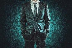Concept de programmation et d'AI photographie stock libre de droits