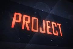Concept de projet Photographie stock libre de droits
