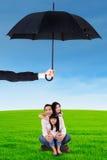 Concept de protection de la famille Photo libre de droits