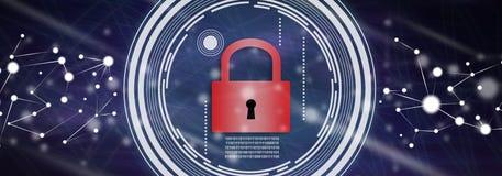 Concept de protection des données illustration de vecteur
