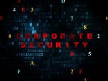 Concept de protection : Sécurité d'entreprise sur Digital Photo libre de droits