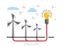 Concept 17 de puissance d'écologie Images libres de droits