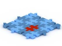 Concept de puzzle Photo libre de droits