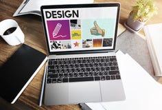 Concept de qualifications d'Art Pencil Drawing Creativity Imagination photographie stock