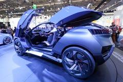 Concept de QUARTZ de Peugeot à l'IAA 2015 Image libre de droits