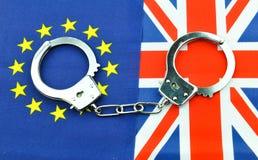 Concept de référendum de Brexit images libres de droits