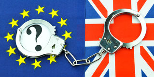 Concept de référendum de Brexit image libre de droits
