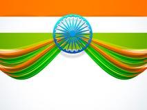 Concept de République de célébrations indiennes de jour et de Jour de la Déclaration d'Indépendance illustration de vecteur