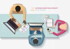 Concept de réunion d'affaires Photos libres de droits